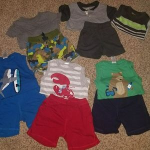 various Other - Carter's Baby Boy Outfits, Mix and Match